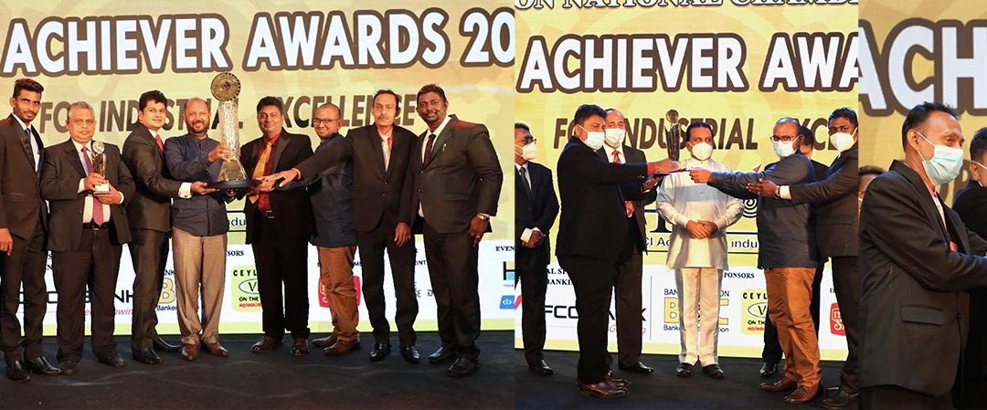 "Wijaya Products (Pvt) Ltd., The leader in the Sri Lankan spice industry, has won the Crystal Award for the Best Industrialist of the Year and the ""Top 10 Award"" for the Top 10 Industrialist of the Year."